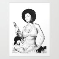 Coffy Is The Colour Art Print
