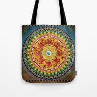 Mandala Epiphaneia Tote Bag