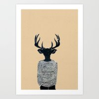 Neck of the Woods Art Print
