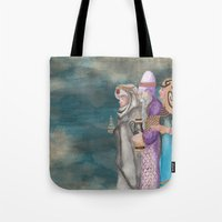 Michael's First Christmas, Three Wise Men Tote Bag