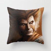 ThunderCats Collection - Tygra Throw Pillow