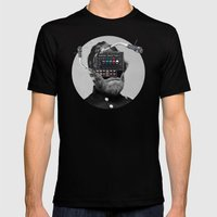 Marshall · Crop Circle Mens Fitted Tee Black SMALL