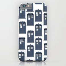 Doctor WHO Tardis Pattern Slim Case iPhone 6s