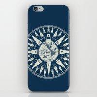 Sailors Compass iPhone & iPod Skin