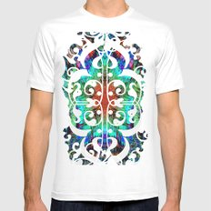 Dreaming in Lucidity Mens Fitted Tee White SMALL