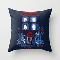 The Women in the House Throw Pillow