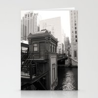 Black And White Chicago … Stationery Cards