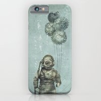 iPhone Cases featuring Balloon Fish by Eric Fan