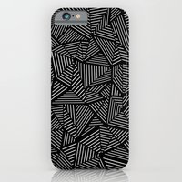 iPhone & iPod Case featuring Abstraction Linear by Project M