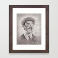 Richard Harrow Framed Art Print