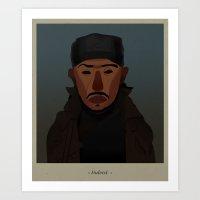 Omar comin'... Art Print