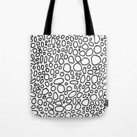 black curls Tote Bag