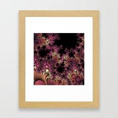 Thorns and petals Framed Art Print