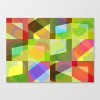Colorful Truth. Shuffle … Canvas Print