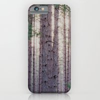 iPhone & iPod Case featuring Michigan Woods at Twilight by Mary Bowen