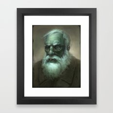 Old Dead Guy Framed Art Print