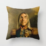 Iggy Pop - Replaceface Throw Pillow