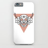 iPhone & iPod Case featuring candy skull by bloodpurple