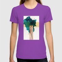 Woodone Womens Fitted Tee Ultraviolet SMALL