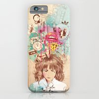 iPhone & iPod Case featuring Thinking by Ariana Perez