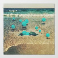 sea berries Canvas Print