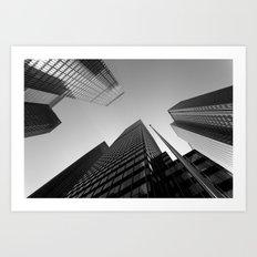 New York Skyscrapers Art Print