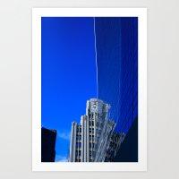 New York Illusion  Art Print