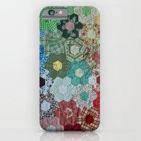 patchwork-design iPhone 6 Slim Case