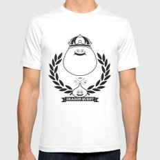 Dragon Quest Slime Monogram Mens Fitted Tee White SMALL