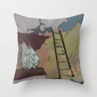 Coco's Lion Throw Pillow