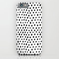 Polka dot rain Slim Case iPhone 6s