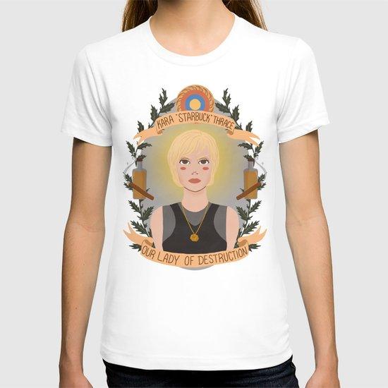 "Kara ""Starbuck"" Thrace T-shirt"