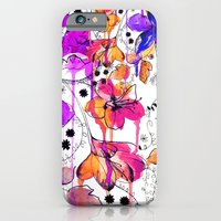 iPhone & iPod Case featuring Lost in Botanica by Holly Sharpe