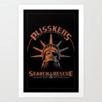 Snake Plissken's Searc… Art Print