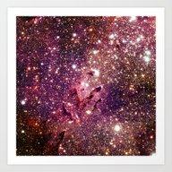 Art Print featuring Galaxy by GalaxyDreams