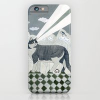 Beaming Cat iPhone 6 Slim Case