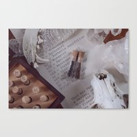 Spell Casting Canvas Print
