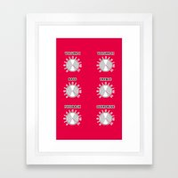 Turn It Up To 11 Spinal … Framed Art Print