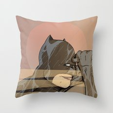 Gotham By Sunrise Throw Pillow