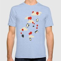 We Can Fly! Mens Fitted Tee Tri-Blue SMALL
