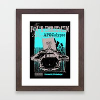 The Four Horsemen Framed Art Print