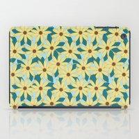Gerbera Blue iPad Case