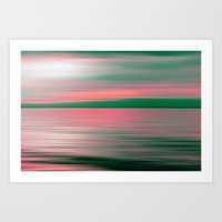 Art Print featuring SUNRISE DREAM by Catspaws