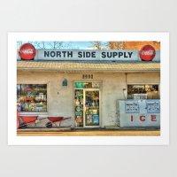Virginia Country Store Art Print