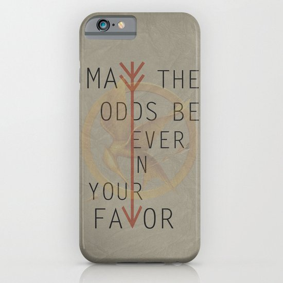 The Hunger Games Poster 02 iPhone & iPod Case