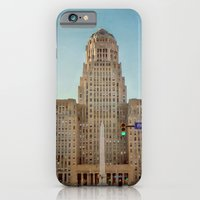 Down Town City Hall Buffalo NY  Color iPhone 6 Slim Case