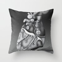 Transplantation I Throw Pillow