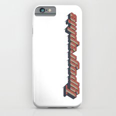 Typographie iPhone 6s Slim Case