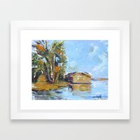 Summer Vacation  Framed Art Print