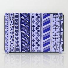 Yzor pattern 002 blue iPad Case